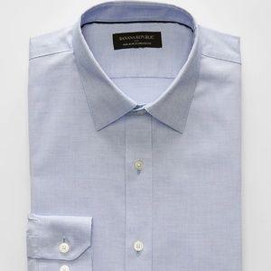 Standard Fit Non-Iron Sky Blue Shirt